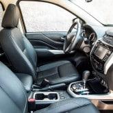 Neuer Nissan Navara NP300 Pickup Innenraum