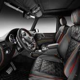 Mercedes G-Klasse 4x4 Tuning by BRABUS Innenraum