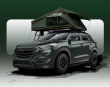 Hyundai Tucson Adventuremobil