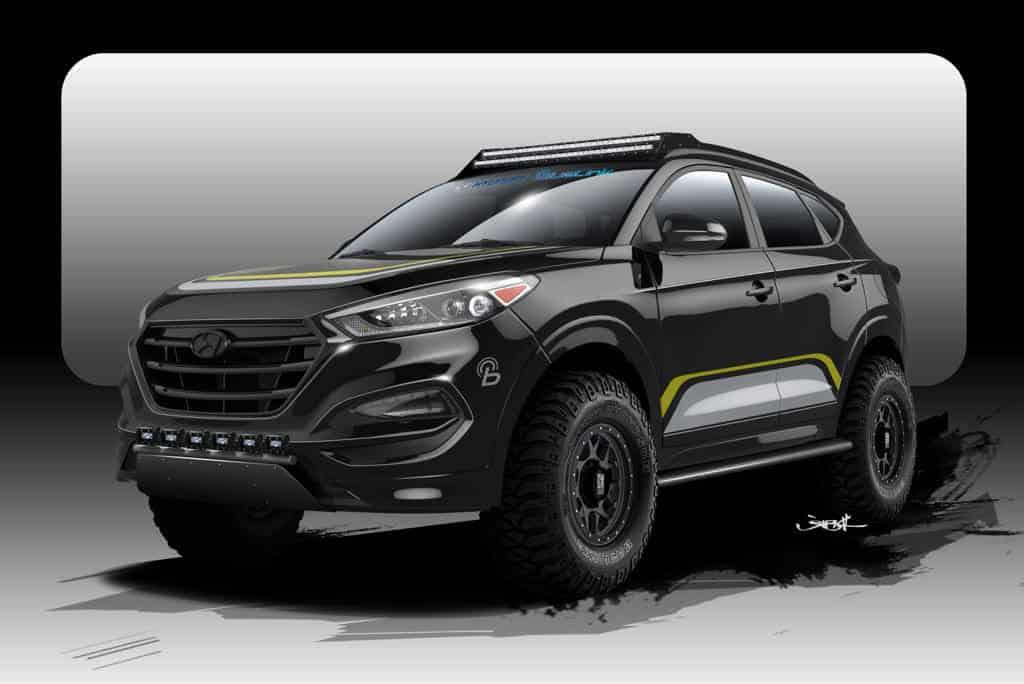 Hyundai Tucson SEMA