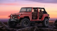 Jeep Wrangler Red Rock