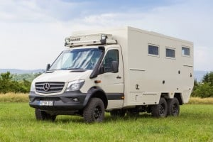 Bocklet Dakar 750 Mercedes-Benz Sprinter 6x6