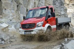 Feuerwehrfahrzeug Mercedes-Benz Sprinter 6x6