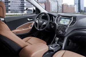 Hyundai Santa Fe Innenraum 2016