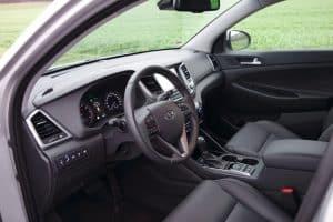 Hyundai Tucson Cockpit