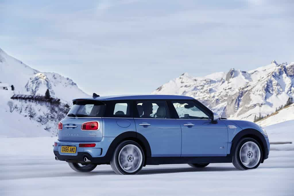 allrad autos mini clubman all4 4x4news home. Black Bedroom Furniture Sets. Home Design Ideas