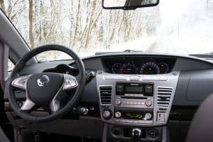 Ssangyong Rodius e-XDI 220 4WD AT Innenraum