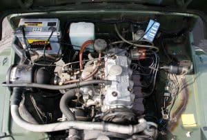 Suzuki LJ 80 Motor