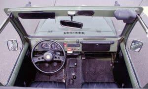 Suzuki LJ 80 Innenraum