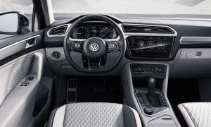 Volkswagen Tiguan GTE Active Concept Innenraum