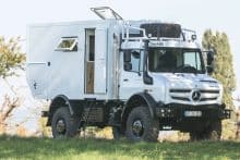 Unimog Expeditionsmobil Umbau Bocklet Dakar U 690