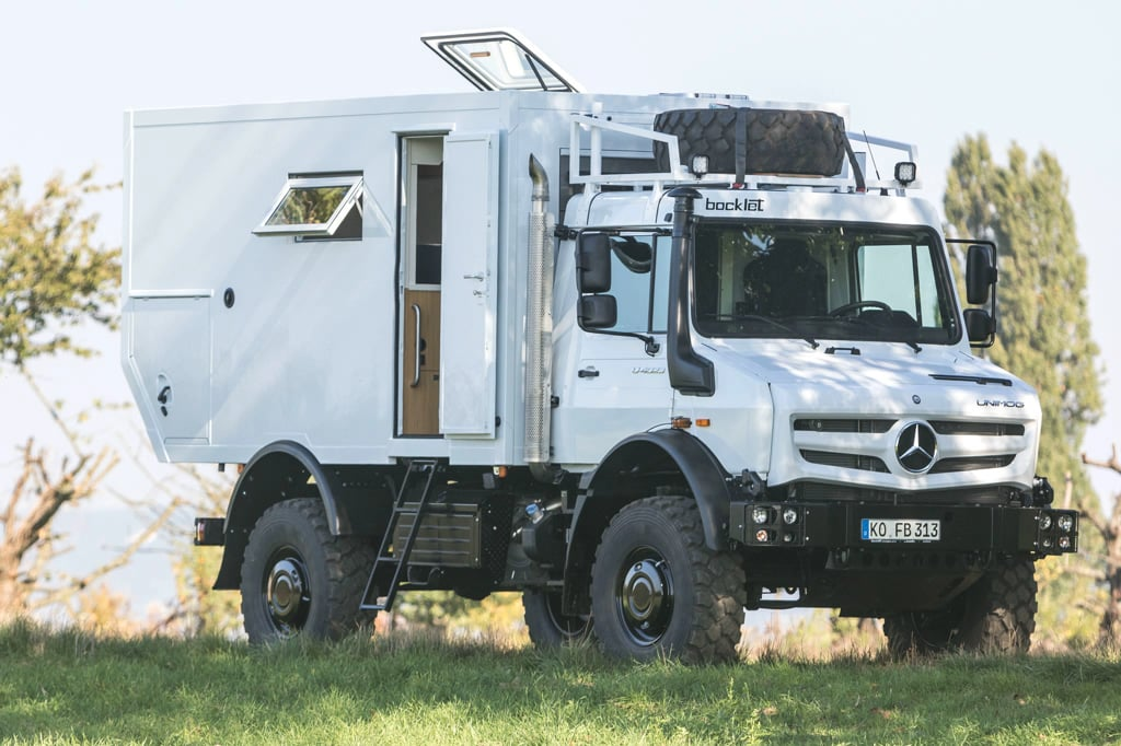 Unimog Expeditionsmobil Umbau Bocklet Dakar U 690