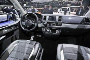 Volkswagen Multivan Pan Americana Innenraum