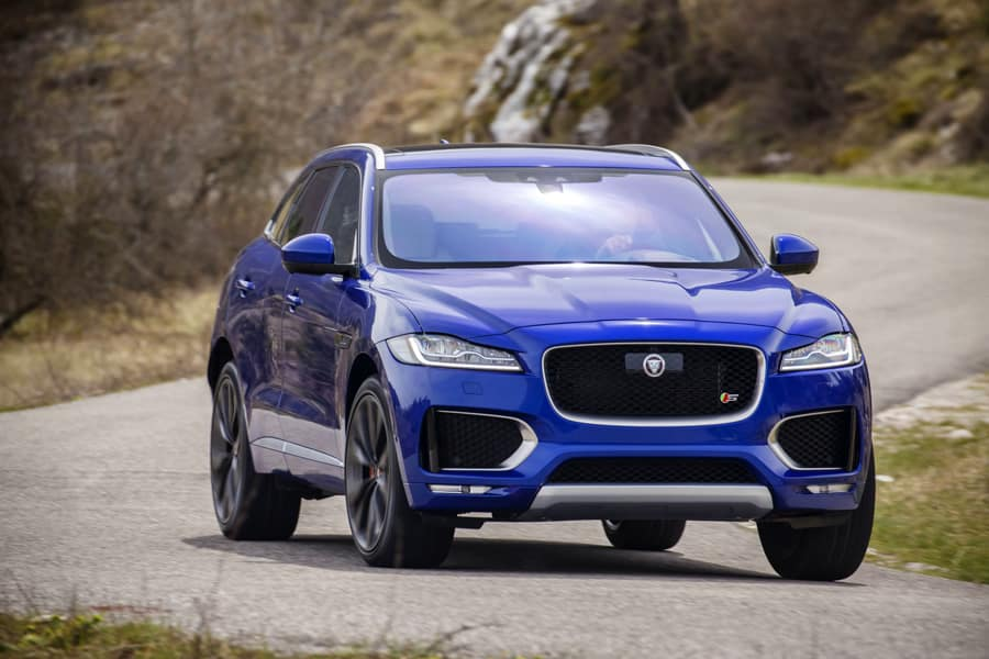 jaguar f pace suv raubkatze f rs gel nde 4x4news home. Black Bedroom Furniture Sets. Home Design Ideas