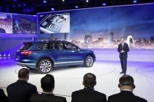 VW T-Prime Concept GTE SUV