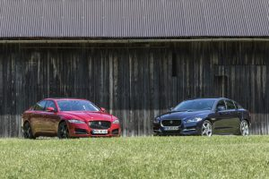 Jaguar XF und Jaguar XE