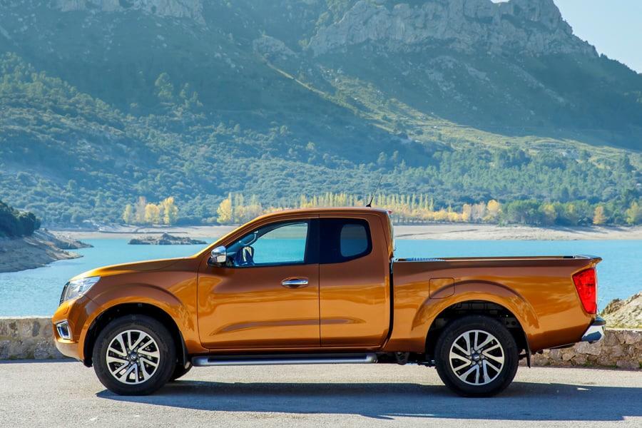 Neuer Nissan Navara Pickup