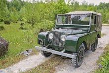 Geländewagen Land Rover Defender 1951