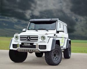 Mercedes G Off Road