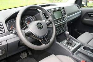 VW Amarok V6 Pickup Innenraum