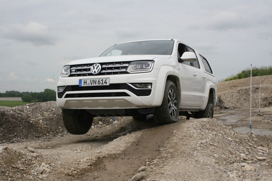 vorstellung volkswagen amarok v6 4x4news home. Black Bedroom Furniture Sets. Home Design Ideas