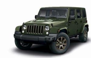 Jeep Wrangler 75 Jahre Edition Sondermodell