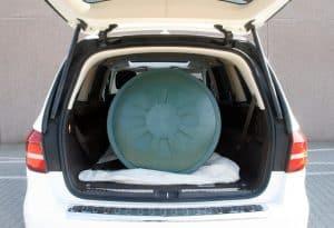 Mercedes GLS 500 4Matic Kofferraum