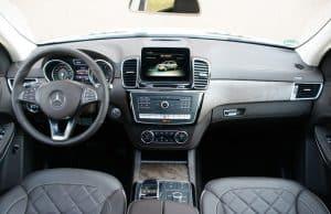 Mercedes GLS 500 4Matic Innenraum