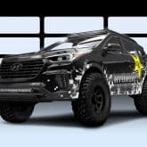 Hyundai Santa Fe Off Road Konzept