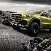 Mercedes-Benz Concept X-CLASS Pickup