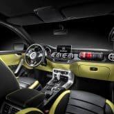 Mercedes-Benz Concept X-CLASS Pickup Innenraum
