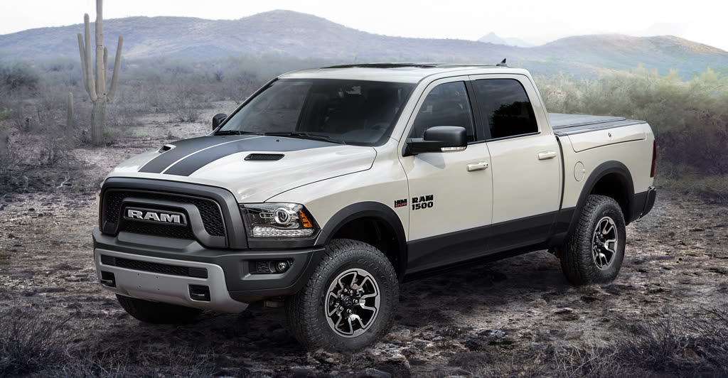 2017 Ram 1500 Rebel Mojave Sand Special Edition