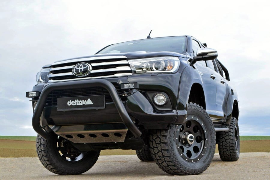 toyota hilux offroad umbau 4x4news. Black Bedroom Furniture Sets. Home Design Ideas