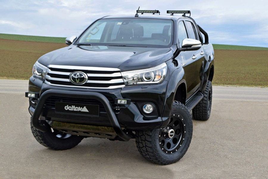 toyota hilux offroad umbau 4x4news home. Black Bedroom Furniture Sets. Home Design Ideas