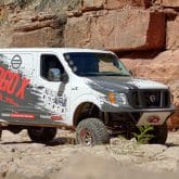 Nissan NV2500 HD Off Road Van