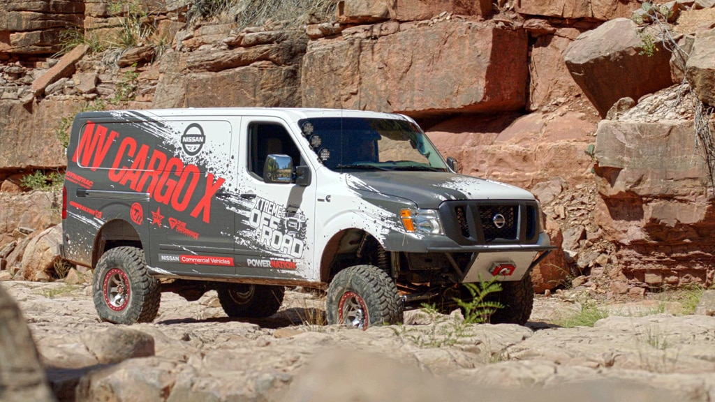 Nissan NV2500 HD Off Road Van