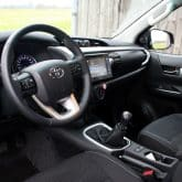 Toyota Hilux Extra Cab Pickup Innenraum