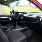 Toyota Hilux Extra Cab Pickup Innenraum