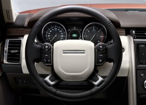Land Rover Discovery 2017 Innenraum