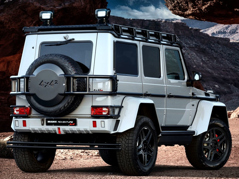 mercedes g 500 4x4 brabus umbau 4x4news home. Black Bedroom Furniture Sets. Home Design Ideas