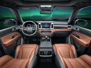 Ssangyong Rexton SUV 2017 Innenraum