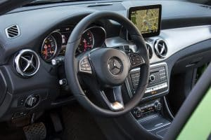 Mercedes-Benz GLA Innenraum