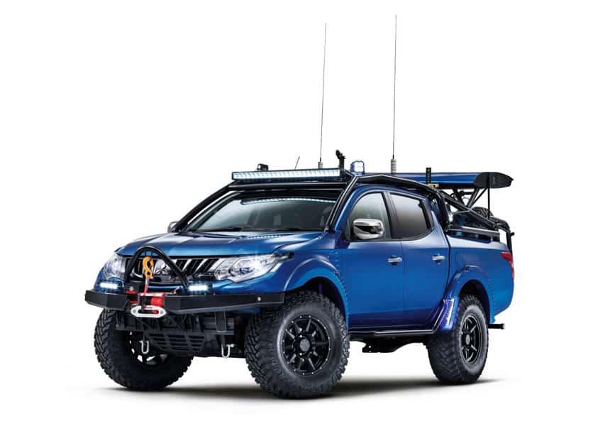 Mitsubishi L200 Pickup Umbau