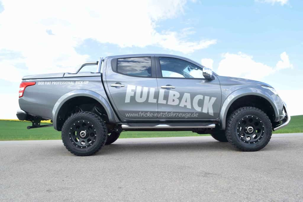 Fiat Fullback Off Road Umbau 4x4news Home