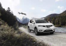 Nissan X-Trail X-Scape mit Drohne