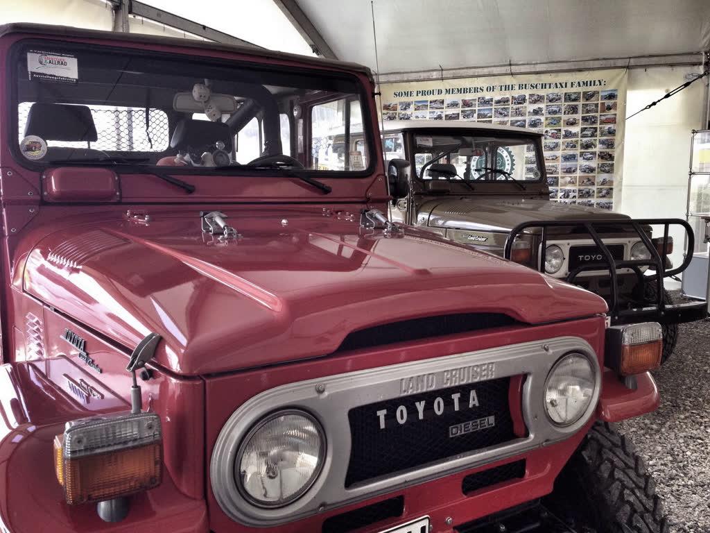 Buschtaxi Toyota Land Cruiser