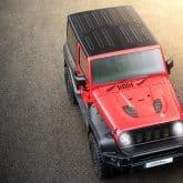 Jeep Wrangler Sahara 36 Tuning