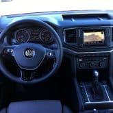VW Amarok V6 4Motion Pickup Innenraum