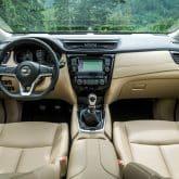 Nissan X-Trail Modelljahr 2018 Innenraum