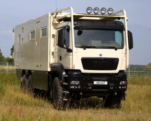 Expeditionsmobil UNICAT MD77h MAN TGS 6x6
